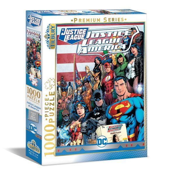 Tilbury DC Justice League Puzzle 1000pc