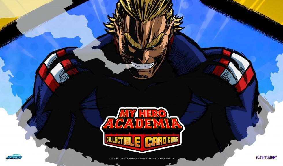 My Hero Academia Collectible Card Game All Might Playmat