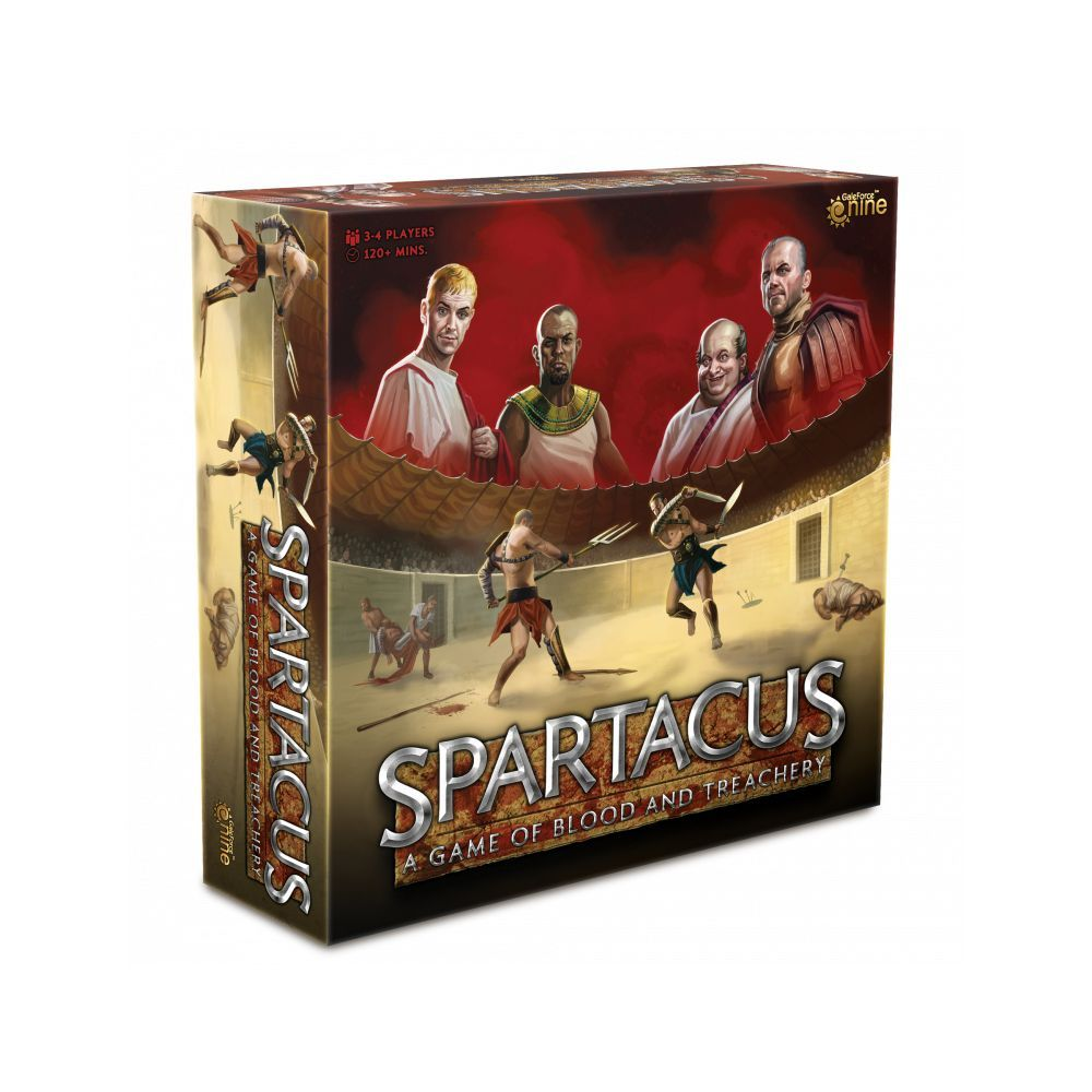 Spartacus A Game of Blood & Treachery