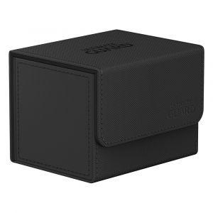 Ultimate Guard Sidewinder 100+ Xenoskin Monocolor Black Deck Box
