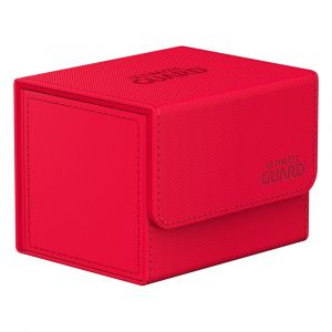 Ultimate Guard Sidewinder 100+ Xenoskin Monocolor Red Deck Box