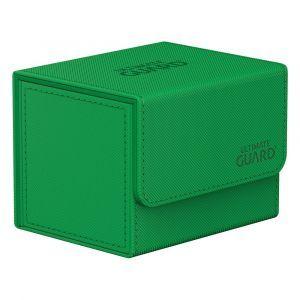 Ultimate Guard Sidewinder 100+ Xenoskin Monocolor Green Deck Box