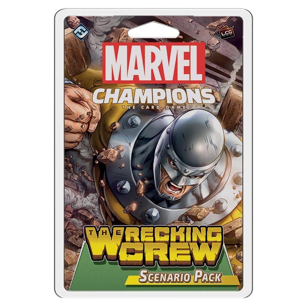 Marvel Champions LCG The Wrecking Crew Scenario Pack