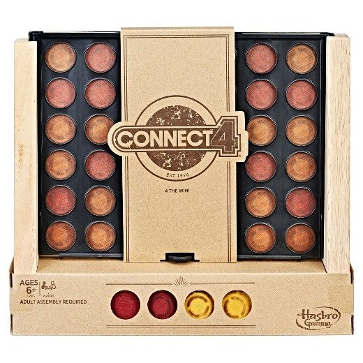 Connect 4 Rustic