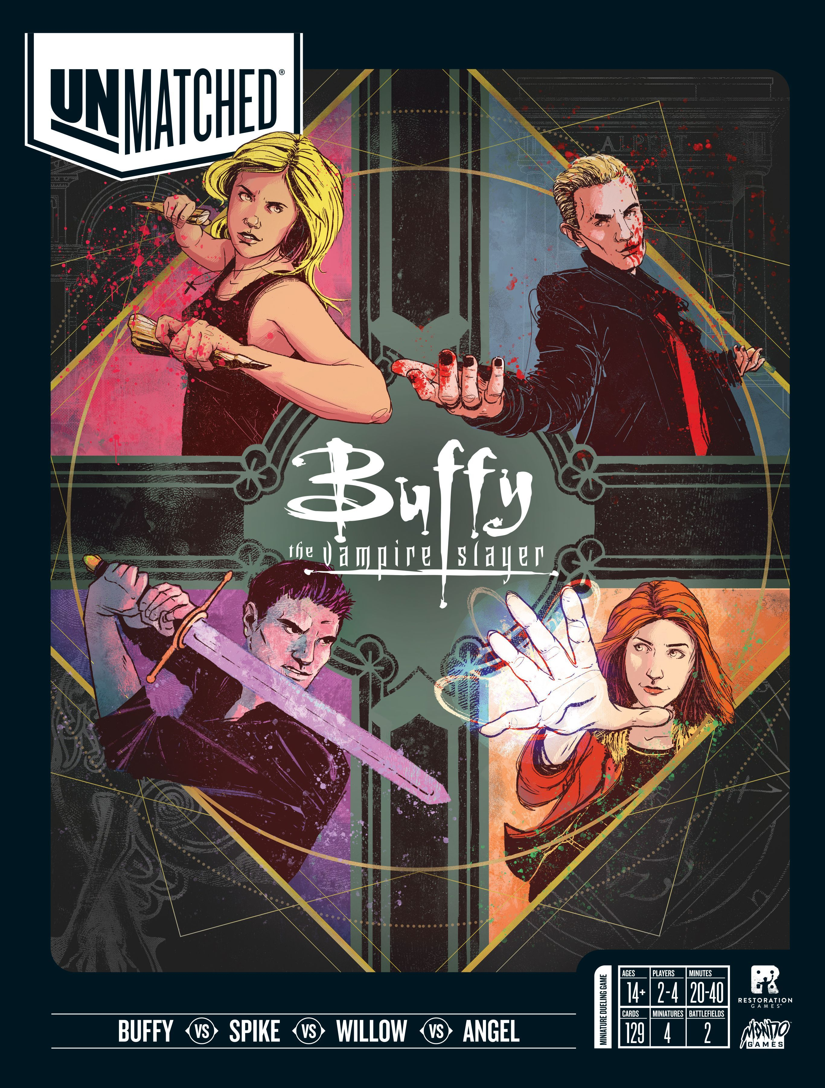 Unmatched Buffy the Vampire Slayer