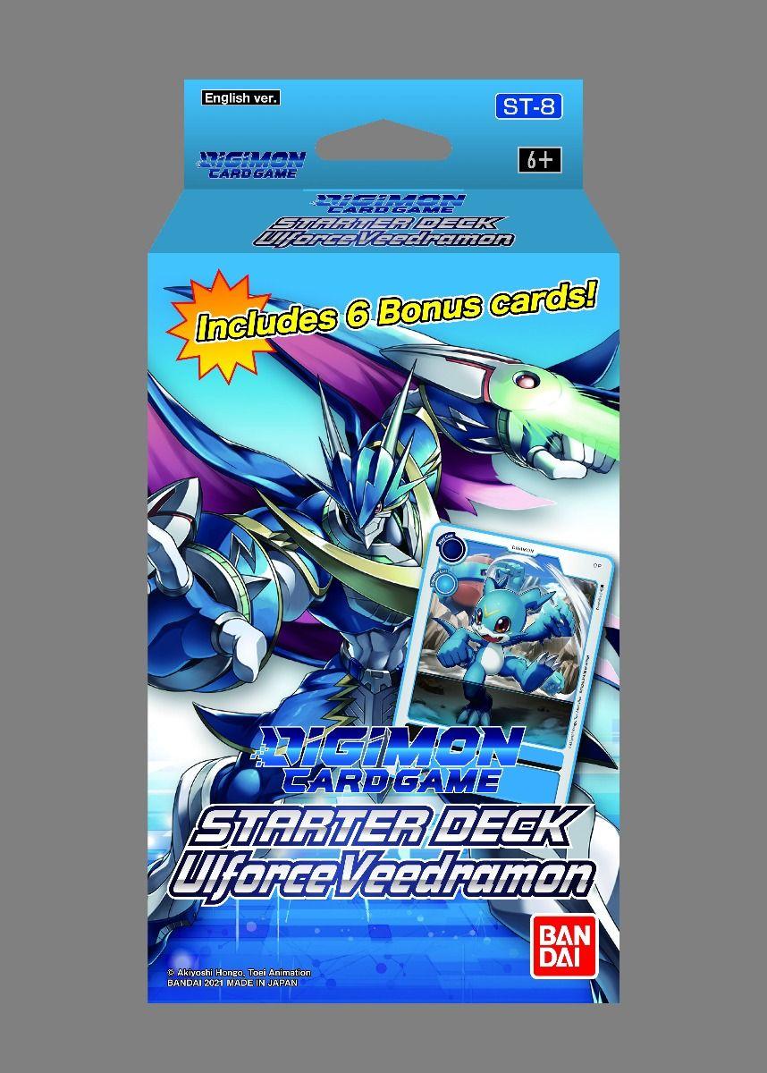 Digimon Card Game Series 06 Starter Display 08 Ulforce Veedramon