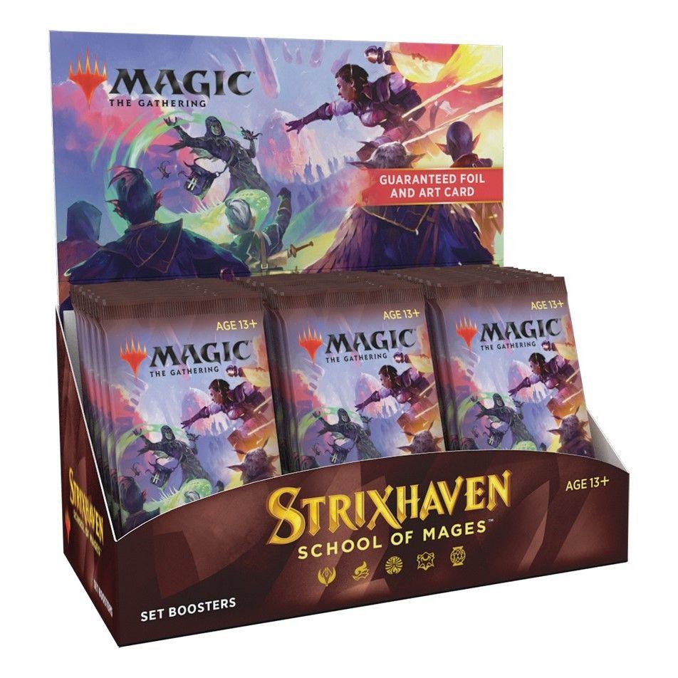 Magic Strixhaven: School of Mages Set Booster Display