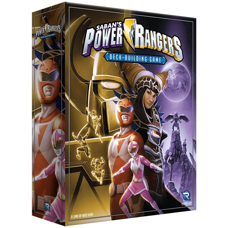 Power Rangers Deck-Building Game