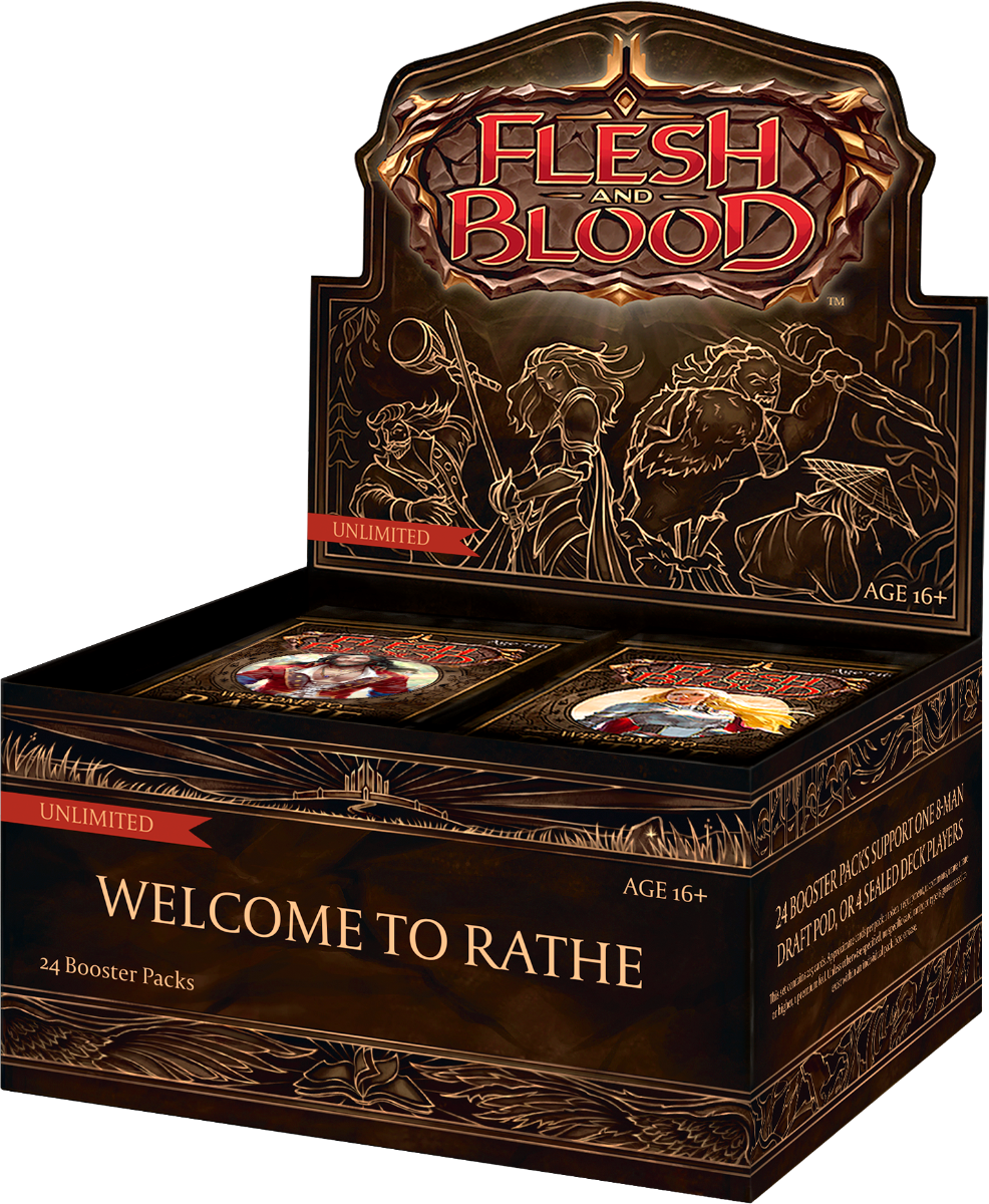 Flesh and Blood TCG Welcome to Rathe UNLIMITED Booster Display (24)