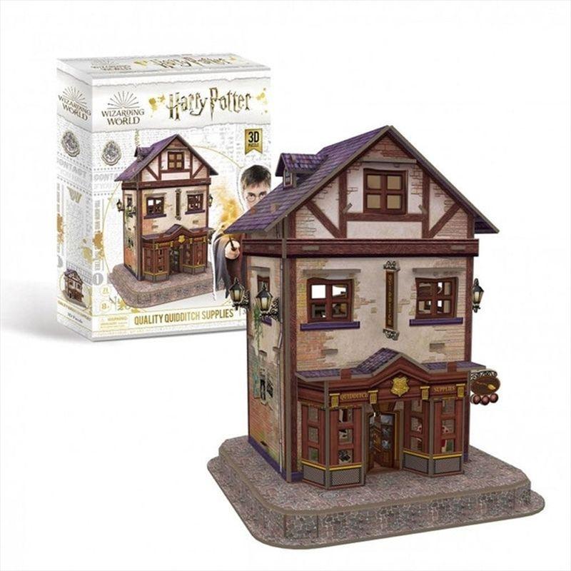 Harry Potter Quality Quidditch Supplies 78pc 3D Puzzle