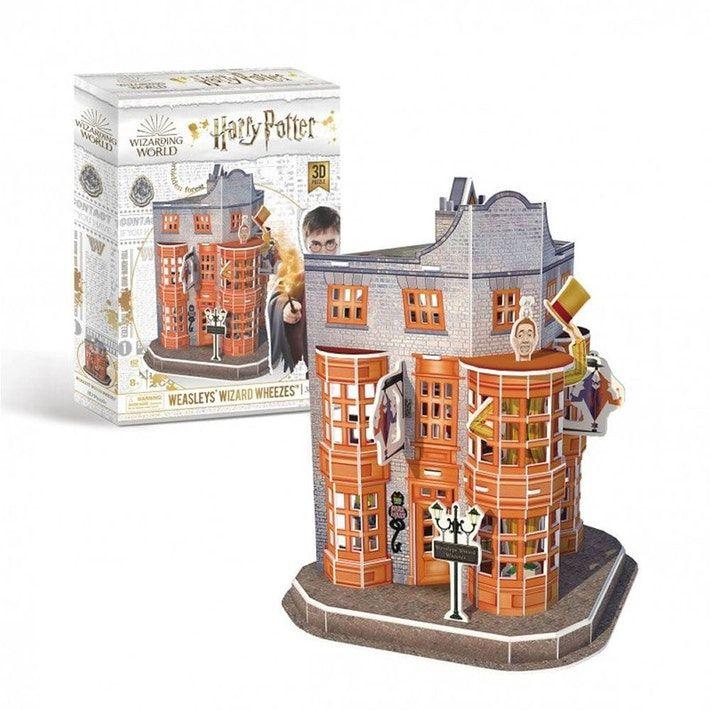 Harry Potter Weasleys' Wizard Wheezes 62pc 3D Puzzle