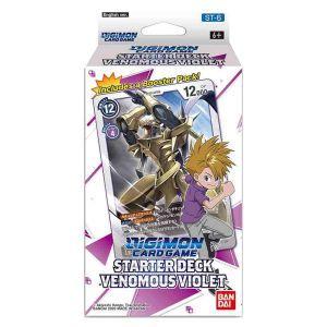 Digimon Card Game Series 04 Starter Display 06 Venomous Violet