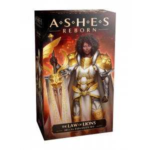 Ashes Reborn The Law of Lions Deluxe Expansion Deck